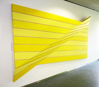 Behälternaht 2 Acryl auf Holz Länge 450 cm