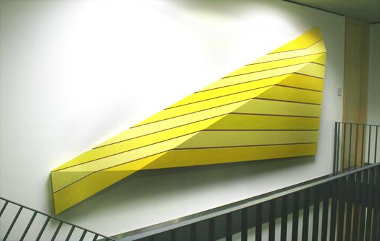 Behälternaht 1 Acryl auf Holz Länge 450 cm