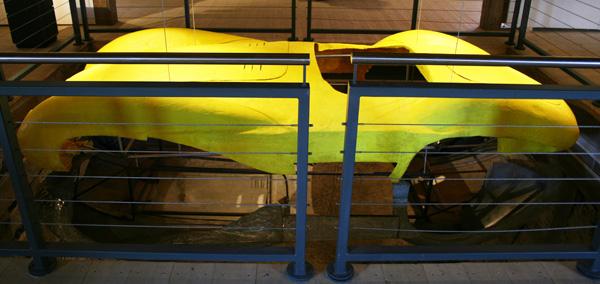 Gießharz-Karosserie auf Aluminium Karosserie