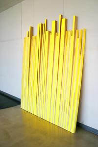Incline, Acryl auf Holz,175/229 cm