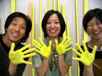 Studenten des Kanazawa Art College