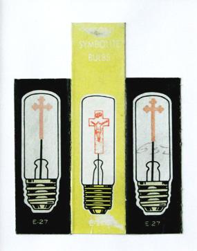 Golghata, Neon symbolite bulb 1, Malta, 1989