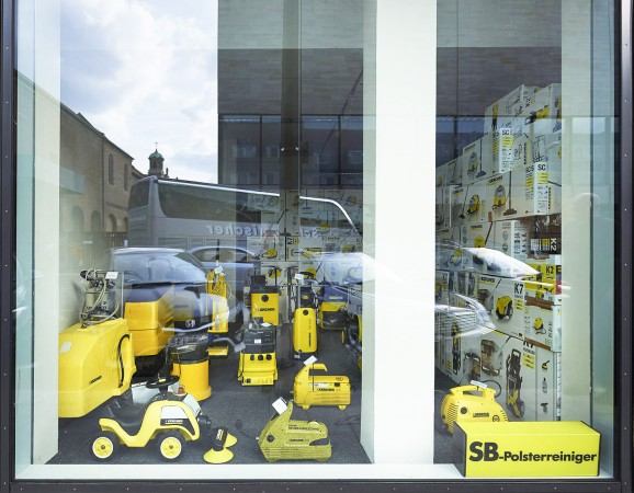 Brand Experience Space,Objekte aus dem Kärcher-Museum,Foto: Bernd Telle