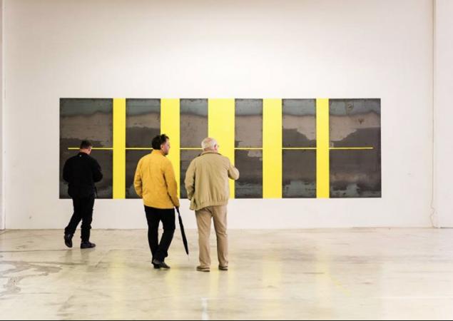 Innere Filterstruktur,  764/ 200 cm,  Stahlblech auf Wandfarbe