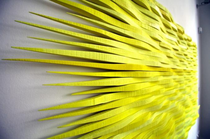 23.7. - 6.9. 2015 Seabreeze 22, Acryl auf Holz, 250/124 cmFotos: Michael Matejka