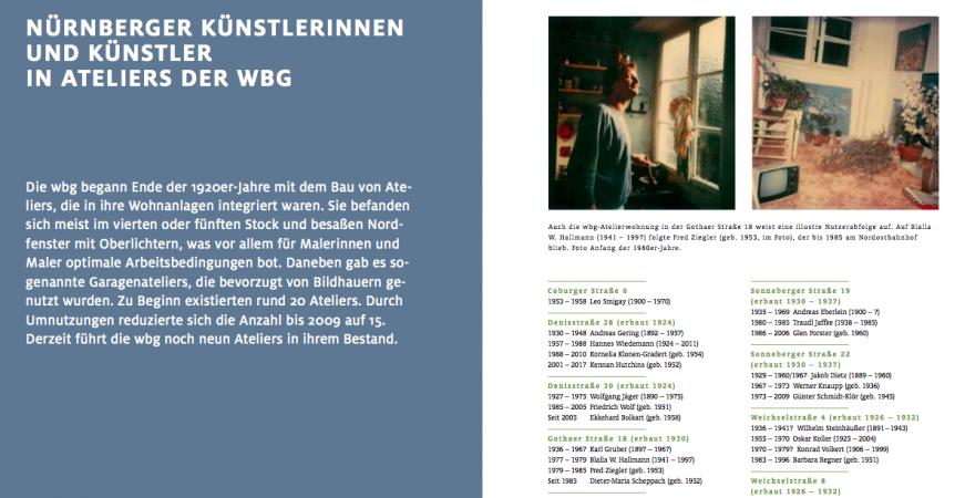 Katalog WBG-Ateliers